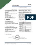 AP358 datasheet