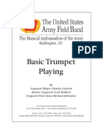 Basic Trumpet Playing