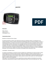 DIMEP - Relógio de Ponto Biopoint II-S