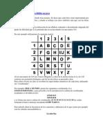 Encriptación  Metodo Bífido en java