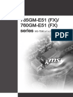 785GM-E51 (FX) 760GM-E51 (FX)) Manual