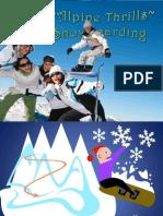 Animated Snowboarding