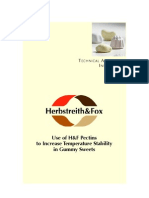 Use of H&F Pectins