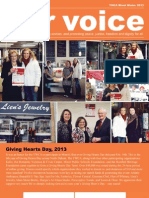 Our Voice, March 2013