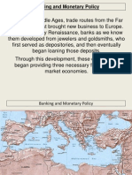 Banking and Monetary Policy
