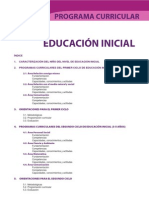 Programa Curricular