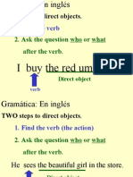direct object pronouns-notes