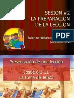 Preparacion de Una Leccion