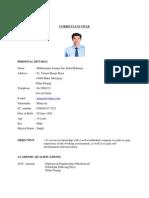 Contoh Resume Untuk Latihan Industri
