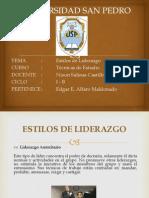 Estilos de Liderzgo