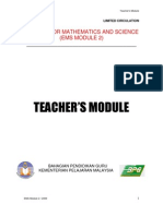 Ems 2 Teacher's Module Etems 2009
