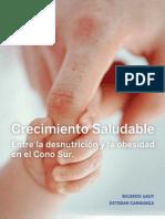 Libro Crecimiento Saludable Entre La Obesidad y La Desnutricion en El Cono Sur