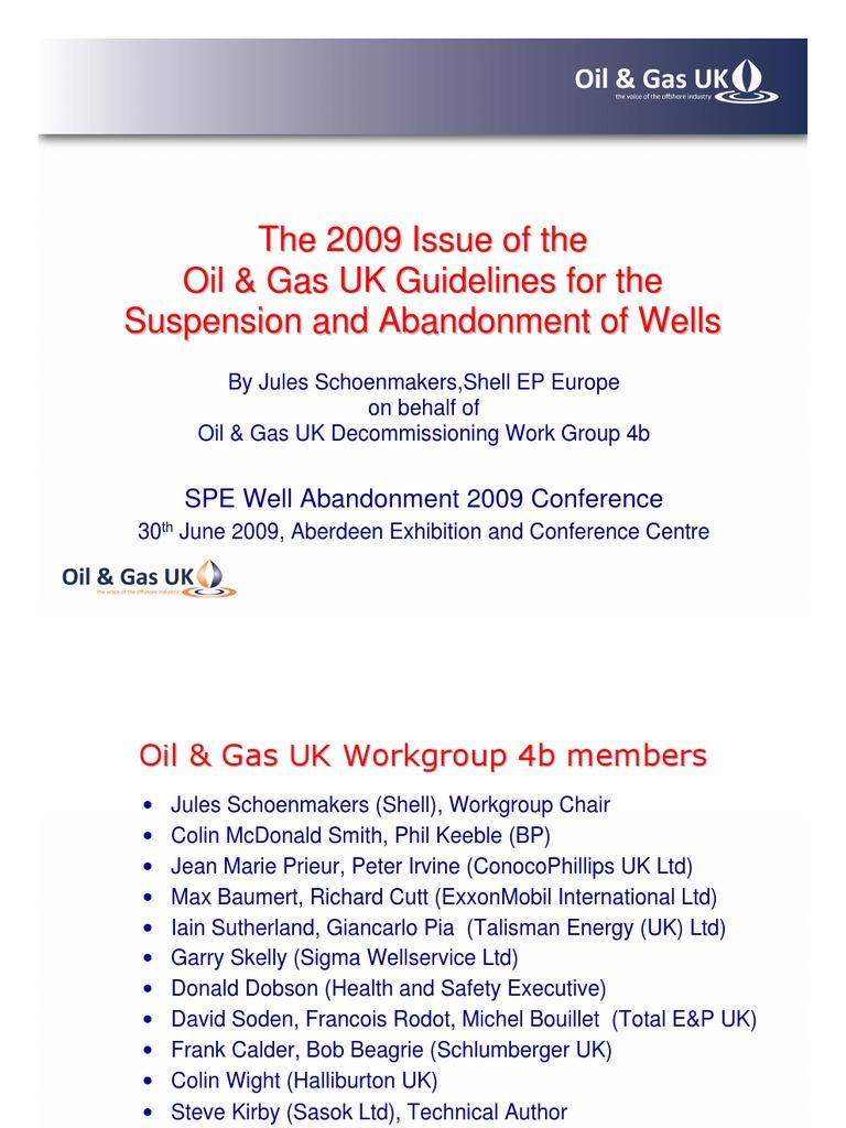 0915 oil and gas uk guidelines j schoenmakers shell oguk w casing rh es scribd com German WW2 Color Mobil Oil