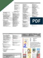 Katalog Jalasutra Lembaran Edisi Maret 2013