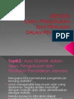 TOPIK 2 STATISTIK