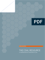 The Coal Resources by World Coal Institute