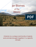 PP Major Biomes of the World