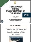 070518 Transformation of the SA Navy