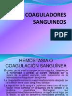 COAGULADORE SANGUINEOS