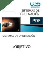 Sistemas de Ordenacion