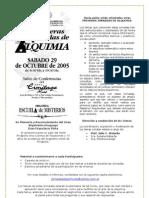 Jornada Alquimica Alquimia-folleto
