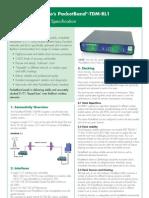 Info Sobre Sistemas TDM y El Clock