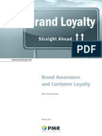 Brand Awareness and Customer Loyalty