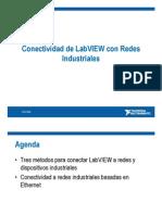 Conectividad de LabVIEW Con Redes Industriales
