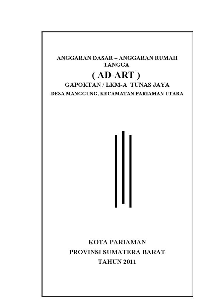 Ad Art Gapoktan Tunas Jaya 1