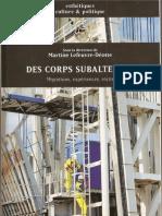 """Article """"Les Trois Enterrements Ou Le Parcours Rembobine Du Clandestin""""-OCR"""