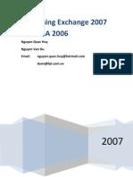 Publishing Exchange 2007 With ISA 2006