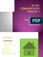 Ae501 Communicative English