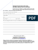 2013 Nominating Form for CCDP Revised