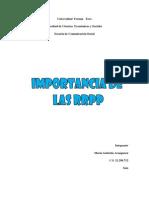 Importancia de Las RRPP