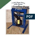 metal steel bending press plans