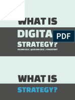 What Is Digital Strategy