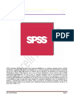 Instructivo Ingreso de en Spss