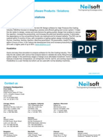Neilsoft Engineering Software Products / Solutions - Pressure Die Casting Solutions