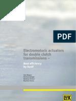 10 Electromotoric Actuators for Double Clutch Transmissions