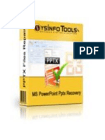 MS PowerPoint PPTX Repair Software