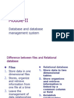 Databases Ys