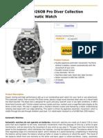 Invicta Men's 8926OB Pro Diver Collection Coin-Edge Automatic Watch