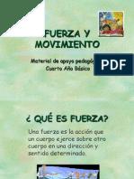 fuerza y movimiento para 4to básico