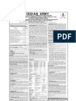Notification of Indian Army 41st SSC T Men 12th SSCW T Women Vacancies