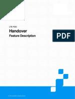 ZTE LTE FDD Handover Feature Description