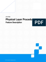 ZTE LTE FDD Physical Layer Procedure Feature Description