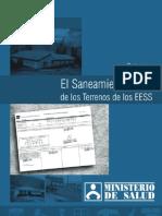 Guia Para El Saneamiento Legal de Los Terrenos de Los Eess