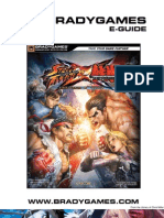 Street Fighter x Tekken BradyGames Official Strategy Guide