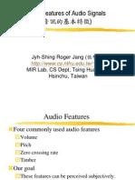 Basic Audio Feature