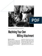 lathe-milling attachment